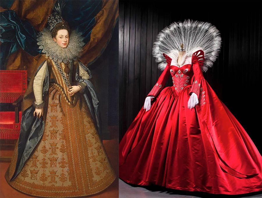 Платья эпохи Елизаветы Батори